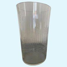 Karhula Etched Glass Vase