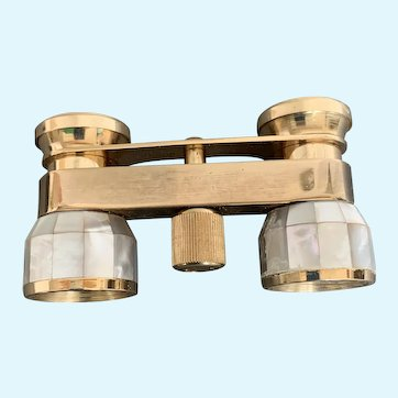 Selsi Mother of Pearl Opera glasses