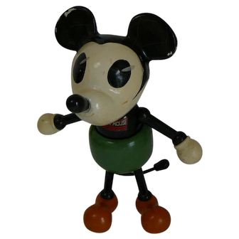 1930s Mickey Mouse Composition Doll