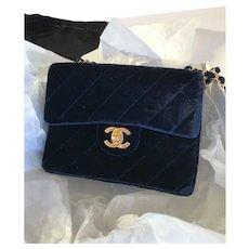 Chanel Velvet Mini Bag