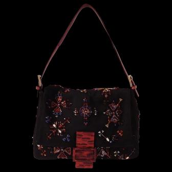 Rare Fendi Vintage Mama Beaded Bag