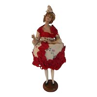 Lilli  Baitz French Bisque Fashion Doll Candy Dish