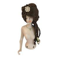 Rare Galluba Hofmann Half Doll w Book