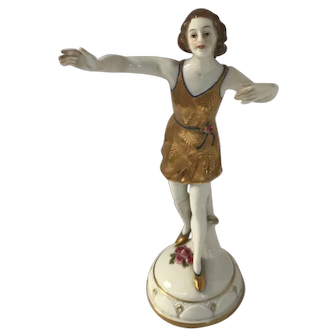 Galluba & Hofmann Porcelain Figure