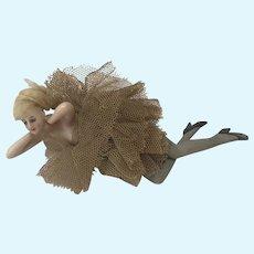 Goebel German Bathing Beauty doll w painted legs