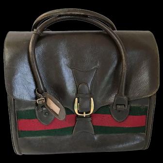 Vintage Gucci Luggage Tote