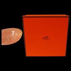 Hermes Small Orange Gift Box