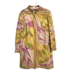 VIntage Emilio Pucci Velvet Coat