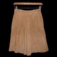 Vintage Ralph Laurent Suede Shorts