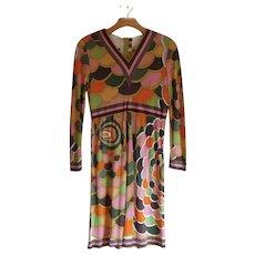 VIntage Emilio Pucci  Silk Dress