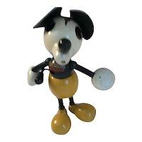 1930 Mickey Mouse Wooden George Borgfeldt Lollipop Doll