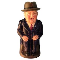 "Royal Doulton ""Cliff Cornell"" Toby Jug - Limited Edition."
