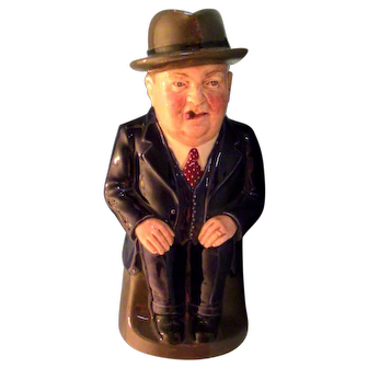 """Royal Doulton """"Cliff Cornell"""" Toby Jug - Limited Edition."""