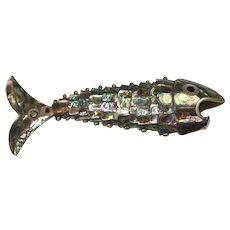 Abalone Fish Bottle Opener