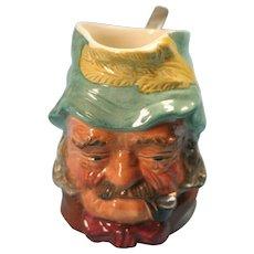 Small Vintage Character Jug Marked Kelsboro Ware - Old Gaffer