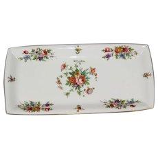 """Vintage Minton Sandwich Tray - """"Marlow"""" pattern"""