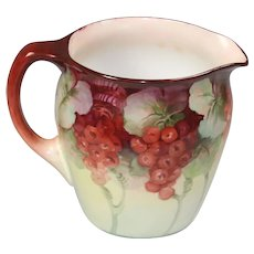 Limoges Antique Porcelain Lemonade Pitcher