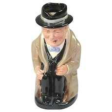 Royal Doulton Toby Jug - Winston Churchill D6171