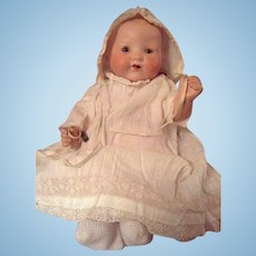 Armand Marseille Kiddiejoy lovely character baby doll with a special mold number.
