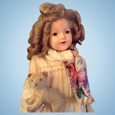 29,5 '' Gorgeous antique Shirley Temple doll Effanbee Lovums - ca. 1915/1925.
