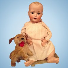23'' Antique character Bahr & Proschild baby doll with a cute face mold number 623
