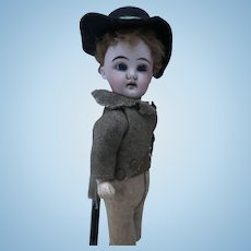 Lovely antique DEP Heubach doll