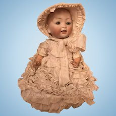Lovely antique Hertel, Schwab & Co character baby mold 152