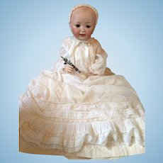 Adorable JD Kestner baby doll with an open closed mouth 14 - 23,5 inch.