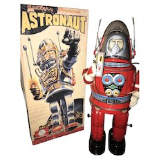 Osaka red astronaut mint in box
