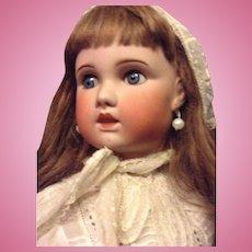 Large SFBJ doll (Jumeau mall) 32 inch!