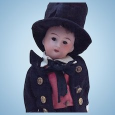 SFBJ doll with a closed mouth fully original - 13/0