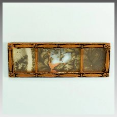 """Miniature Tynietoy Mirror 1920s – 1930s 1"""" Scale"""