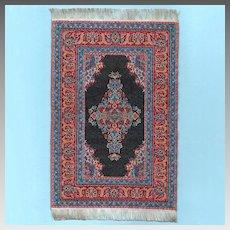 "Vintage Mini Mundus Woven Oriental Dollhouse Rug 1"" Scale"