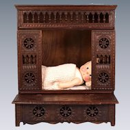 Miniature French Brittany Blanket Chest Late 1800s – Early 1900s