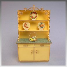 Princess Patti Hutch Cabinet with Accessories #4506-2 by Ideal 1965