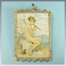 """Dollhouse Picture De La Rue Print #132 Series 1920s – 1930s Large 1"""" Scale"""