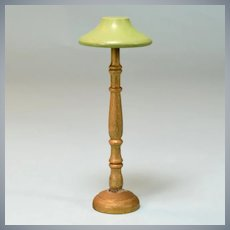 "Wooden Schoenhut Dollhouse Floor Lamp 1931 Small 1"" Scale"