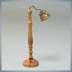 "Schoenhut Dollhouse Floor Lamp 1930 Small 1"" Scale"