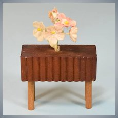"Kage Dollhouse Plant Stand Late 1930s 3/4"" Scale"