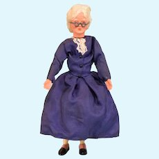 """Caho / Caco Grandmother Doll Compo Head 5-1/4"""" Early 1960s"""