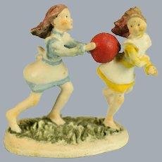 Backyard Frolic Goebel Miniature by Robert Olszewski #83 633-P Children Series 1983