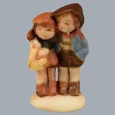 Betty Neiswender Bisque Hummel Style Boy & Girl Figurine 1994