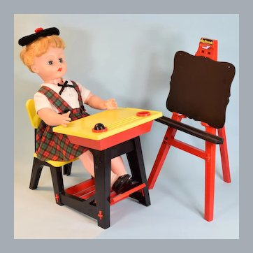 Vintage Suzy Smart Talking Doll by Deluxe Reading Co. 1962