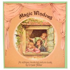 Magic Windows A Revolving Picture Book 1980 – Original by Ernest Nister