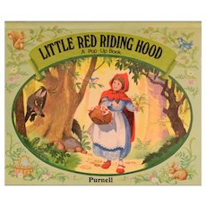 Little Red Riding Hood A Pop-Up Book by Purnell Publishers 1984