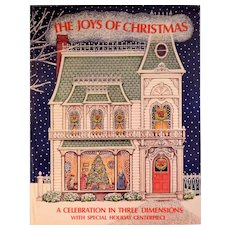 The Joys of Christmas Pop-Up Book by Cindy West 1985