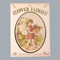 The Flower Fairies Birthday Book Illustrated by Cicely Mary Barker 1979