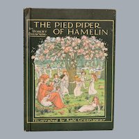 The Pied Piper of Hamelin by Robert Browning Illustrated by Kate Greenaway
