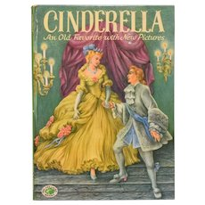 Cinderella: An Old Favorite with New Pictures Retold by Evelyn Andreas 1954