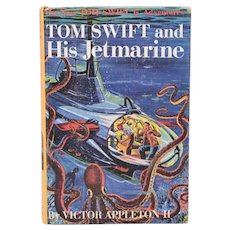 Tom Swift and His Jetmarine #2 by Victor Appleton II 1954